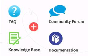 Documentation、FAQ、Knowledge Base、Forum区别